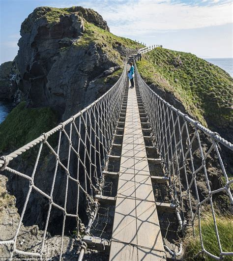 Most Scenic Places In Usa by Would You Dare To Walk Along The Most Terrifying Bridges