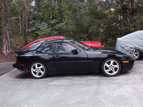 porsche 944 black 1989 944 turbo s black stock sport seats sold