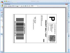 Ups Label Template ups shipping label template template design