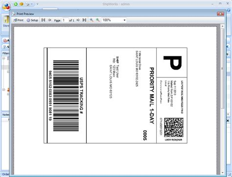ups shipping label template template design