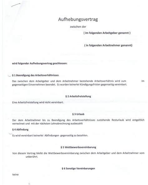 Schreiben Aufhebungsvertrag Muster Wie Ist Dieser Aufhebungsvertrag Zu Bewerten Recht Arbeit Ausbildung