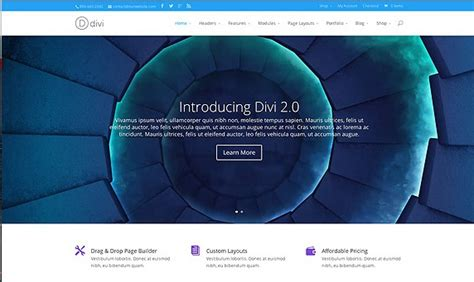 themeforest divi divi v2 7 5 elegant themes wordpress theme null24