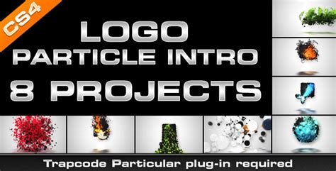 after effect templates torrent after effects project logo particle intro 8in1 template