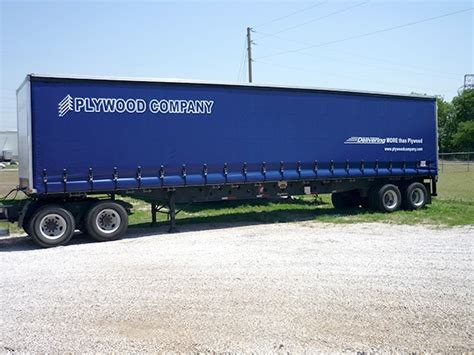 Flatbed Curtain Side Trailers How To Convert A Flatbed Trailer To A Curtainside Trailer