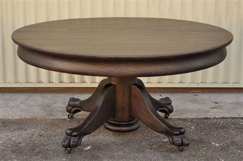 Claw Foot Coffee Table 19th Century Black Painted Pedestal Claw Foot Coffee Table At 1stdibs