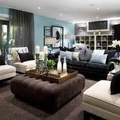 living room decorating ideas black leather
