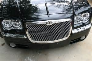 Bentley Grille For Chrysler 300 Chrysler 300 Chrome Bentley Mesh Grille W Bentley B