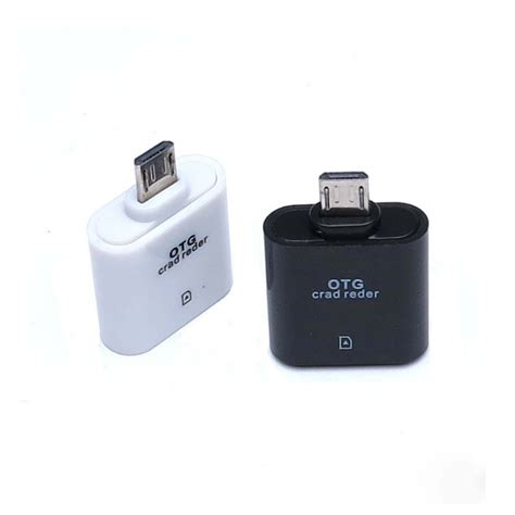 Usb On The Go Samsung micro usb otg card reader for samsung galaxy otg smart card reader tf card reader micro sd card