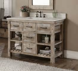 bathroom vanity with shelves 34 rustic bathroom vanities and cabinets for a cozy touch