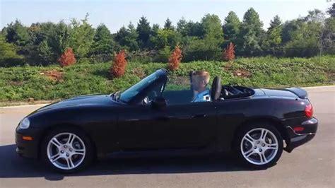 sold mazda miata mx  convertible black cherry auto  owner     youtube