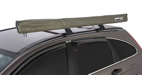 roof rack awning price sunseeker awning bracket for flush bars 32123 rhino rack