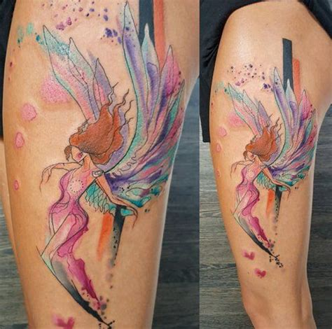 tattoo angel model watercolor tattoo angel tattoo tattooviral com
