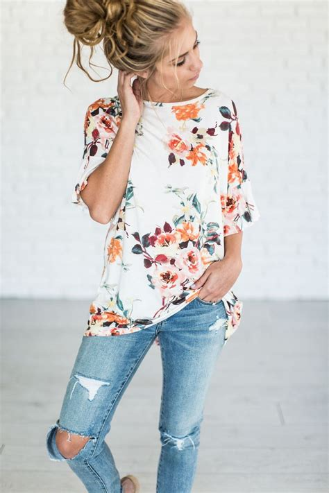 Top Clothing best 25 floral tops ideas on clothes