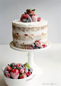 cake with candied and sugared berries ashlee marie