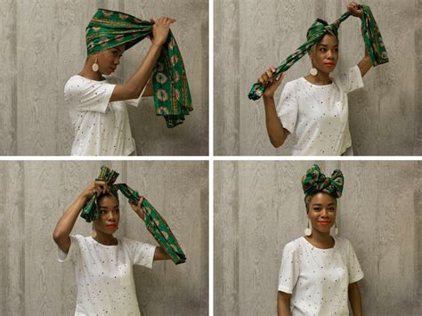 new styles guide to tying nigerian traditional head tie how to tie a headwrap in four fabulous ways huffpost