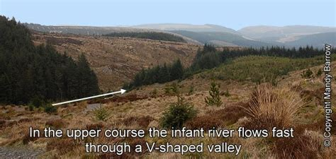 river thames upper course river severn v shaped valley