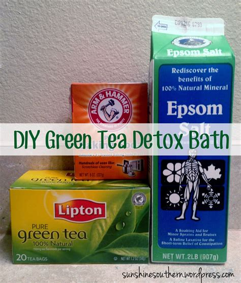 Green Tea Detox For by Green Tea Detox Bath Green Tea Detox Detox Baths And Detox