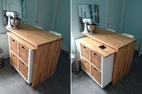 Kitchen Islands Diy transformations de meubles ikea pour la cuisine c est