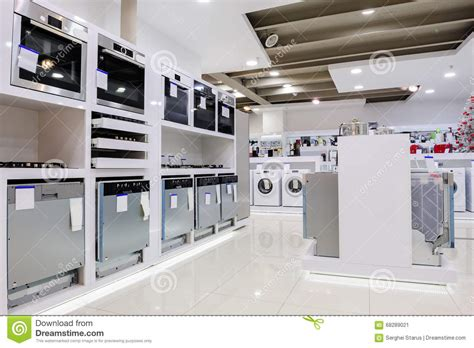 home design store shreveport home appliance in the store stock image image 68289021
