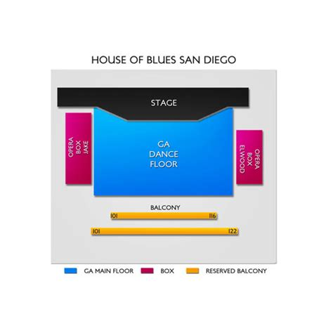 house blues five essentials to house of blues san diego seating chart seats