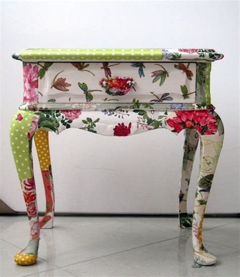 Decoupage Furniture With Paper - 25 best ideas about decoupage table on modge