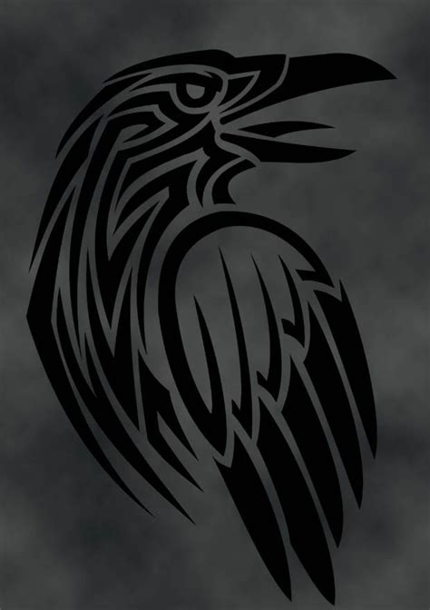 raven tribal tattoo picmia
