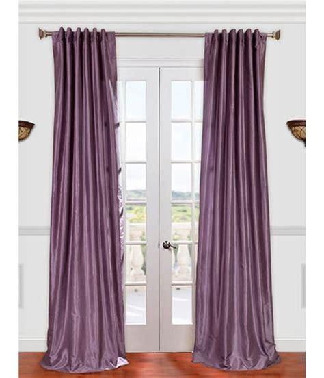 plum faux silk curtains vintage textured faux dupioni silk curtain smokey plum