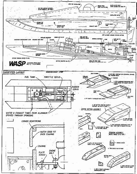 boat building plans pdf rc boat building plans how to building a boat lift