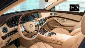 interior design cars 2016 mercedes maybach s600 luxury car interior design hd