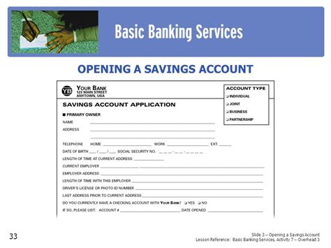 Documents Needed To Open Checking Account