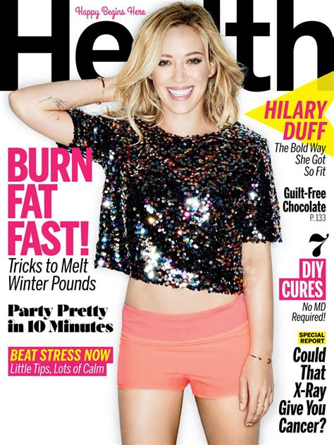 Win Hilary Duffs Cover Look by Hilary Duff Reveals She Had Serious Image Issues As A