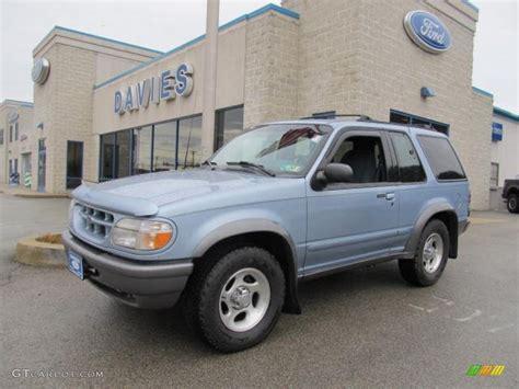 ford explorer light 1998 light denim blue metallic ford explorer sport 4x4