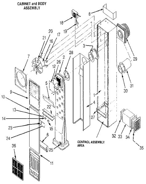 suburban furnace parts diagram suburban mfg co counterflow direct vent gas wall furnace