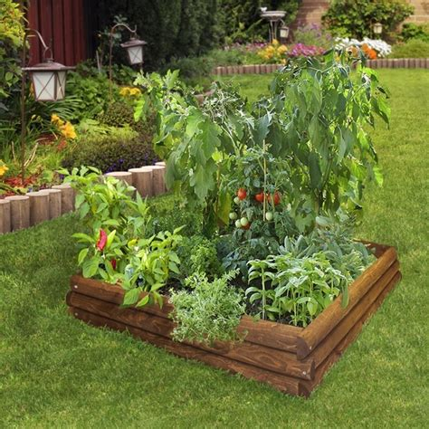 Diy Raised Beds In The Vegetable Garden Ideas And Materials Vegetable Garden Gift Ideas
