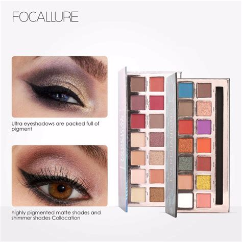 Focallure Tropical Vacation Eyeshadow Palette paletka očn 253 ch tieňov focallure tropical vacation