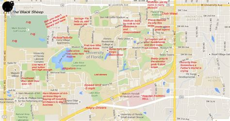 map of gainesville fl a judgmental map of gainesville florida