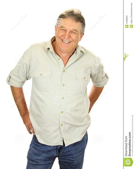 casual chic for middle age casual middle aged man royalty free stock photo image