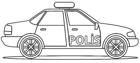 polis arabasi boyama sayfasi polis boyama sayfalari ve