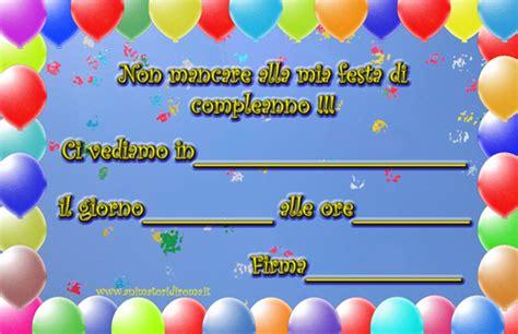 cornici compleanno gratuito biglietti d invito al compleanno