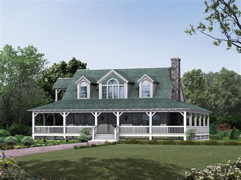 country farm house cane hill country farmhouse plan 049d 0010 house plans