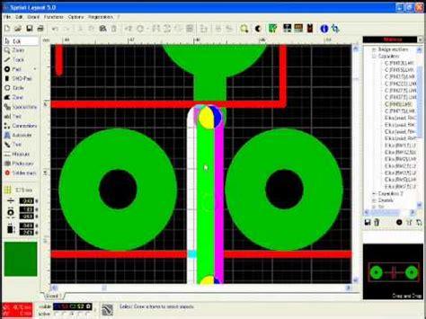 sprint layout tutorial youtube sprint layout 5 0 tutorial no 2 youtube