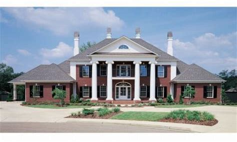 federal style house plans southern colonial style house plans federal style house