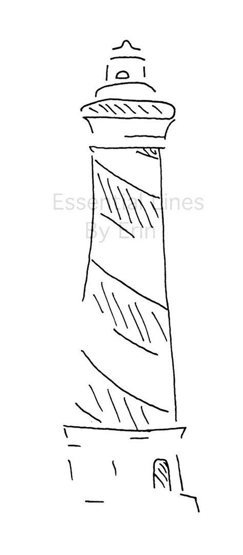 minimalist lighthouse tattoo hatteras lighthouse minimalist artwork by