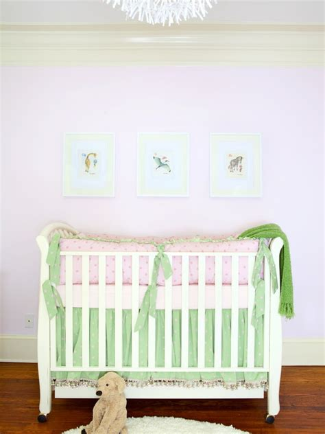 pink and green crib bedding pink and green nursery bedding traditional bedroom dayka robinson designs