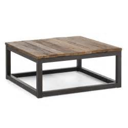 Coffee Tables Square Zuo Modern 98122 Civic Center Square Coffee Table Lowe S