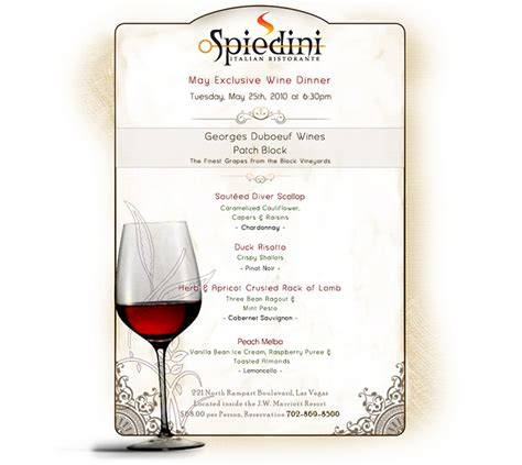 wine dinner menu template wine menu template related keywords best free home