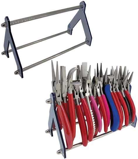Plastic Tool Rack by Tool Rack Plastic Steel Pliers Cutters