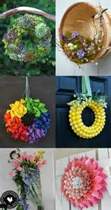 spring wreath ideas spring wreath ideas 10 rattan balls crochet spring