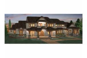 House Plans 6 Bedrooms by Six Bedroom Prairie Hwbdo68465 Craftsman From