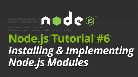 kurento node js tutorial node js tutorial 6 installing and implementing node